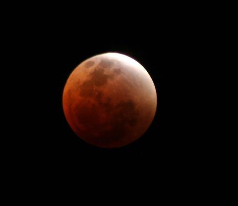 Blood Moon - Peter Gaylard