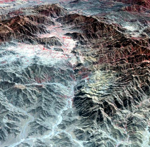 Khyber Pass - NASA