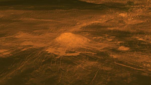 Venus Volcano - NASA