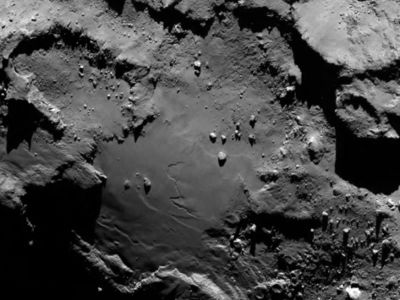 Comet surface - ESA