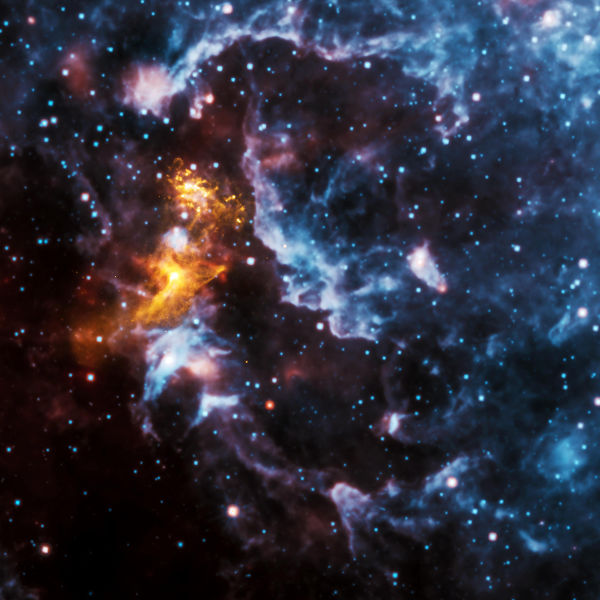 Chandra and WISE explore the neutron star PSR B1509-58