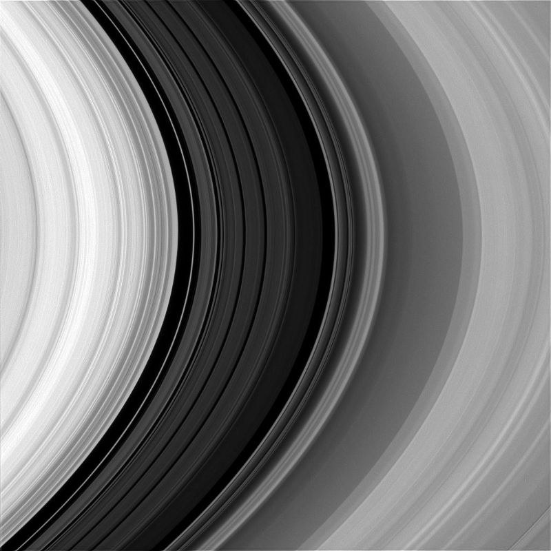 Cassini provides us with this look at the rings of Saturn