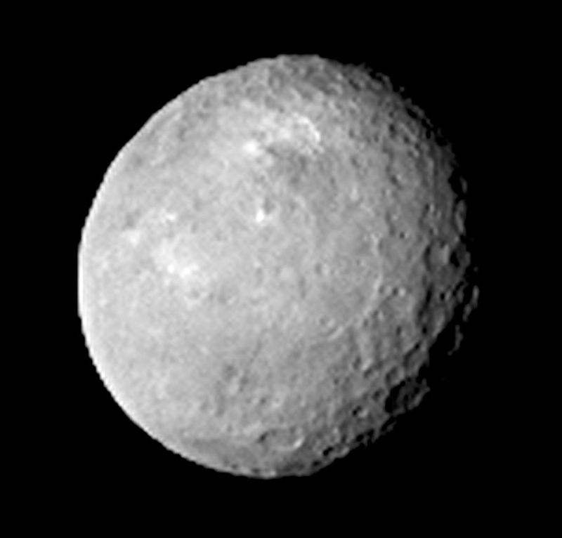 Picture of Ceres taken by NASA