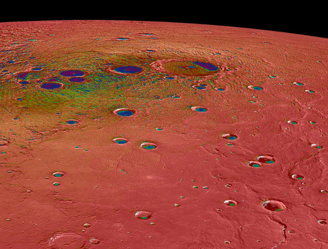 Temperature on Mercury's north pole can be at extremes