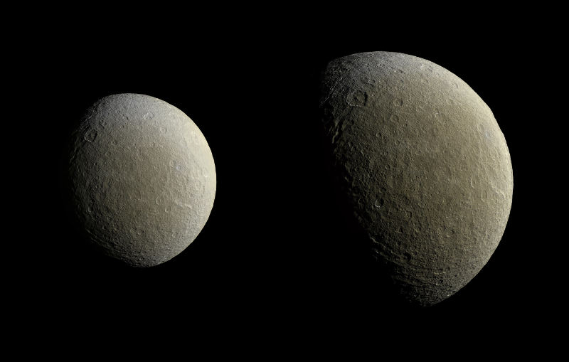 Cassini spacecraft returns to Saturn and its moon Rhea