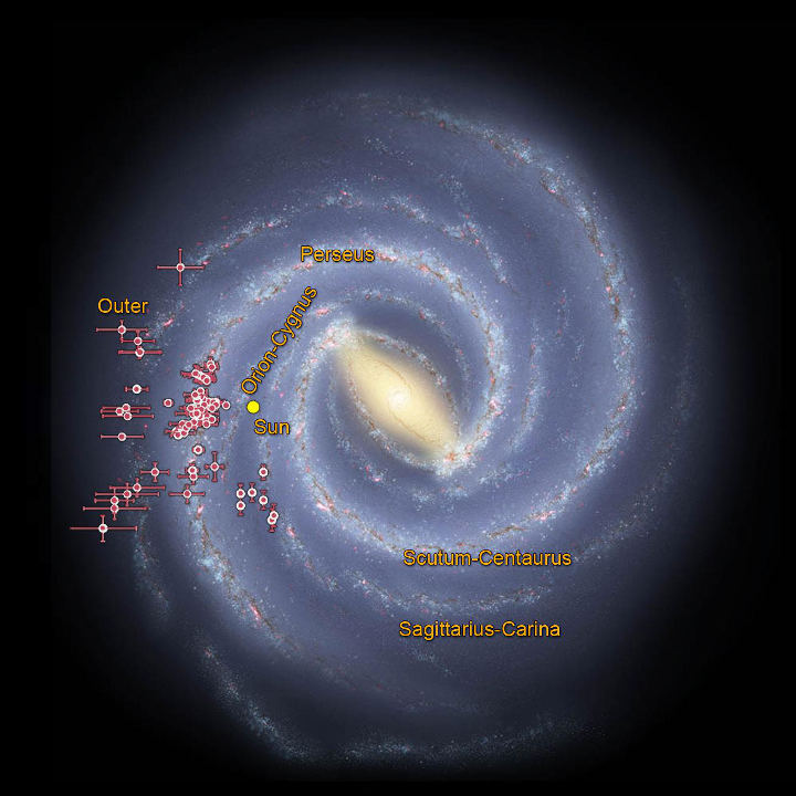 NASA's data helped trace the shape of our Milky Way galaxy's spiral arms